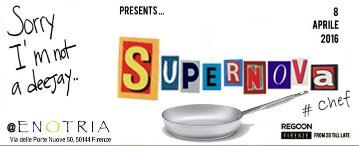 Sorry I'm not a deejay #Chef Presenta SUPERNOVA – 8 Apr 2016